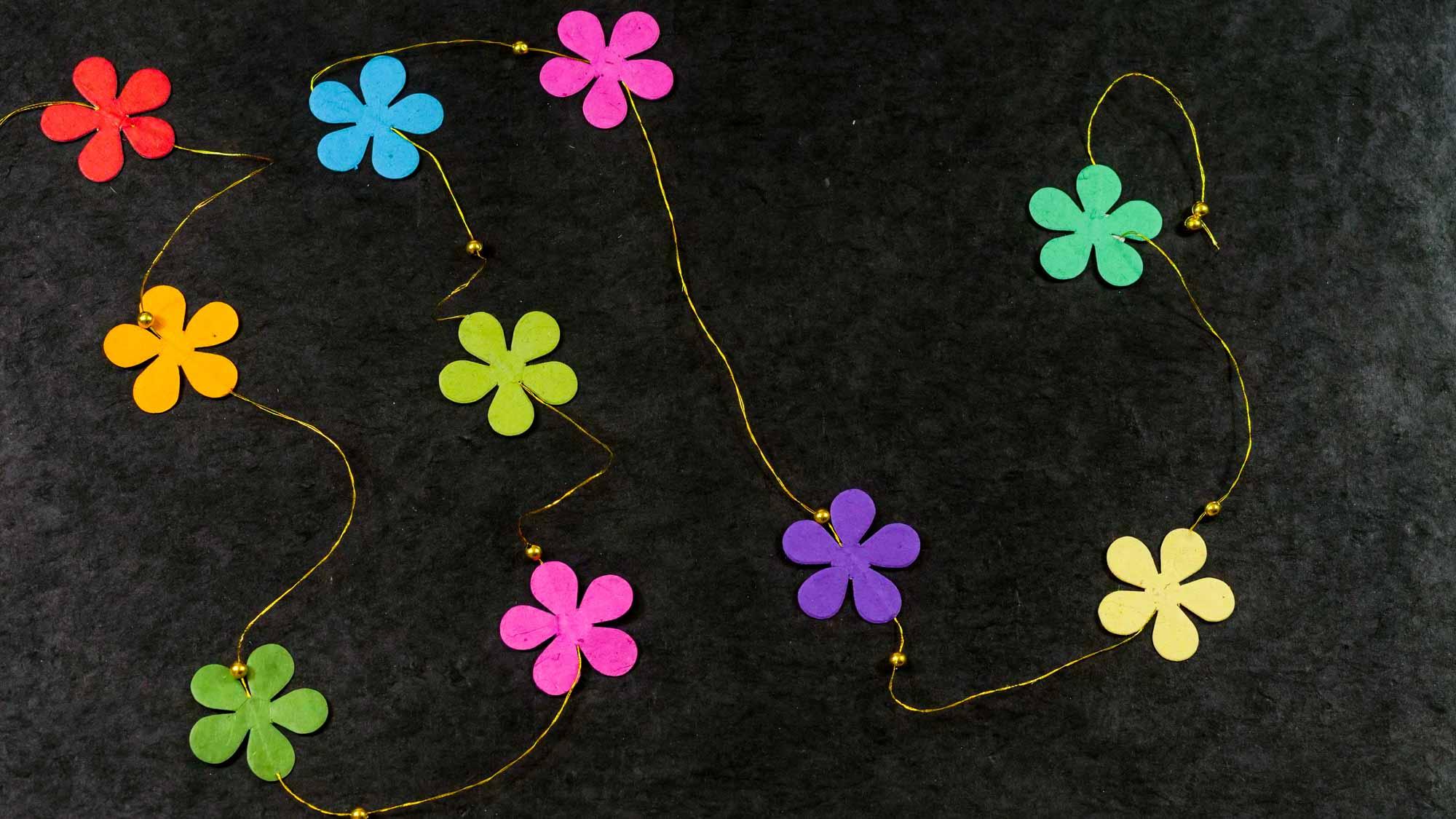 Girlande 'Blume'