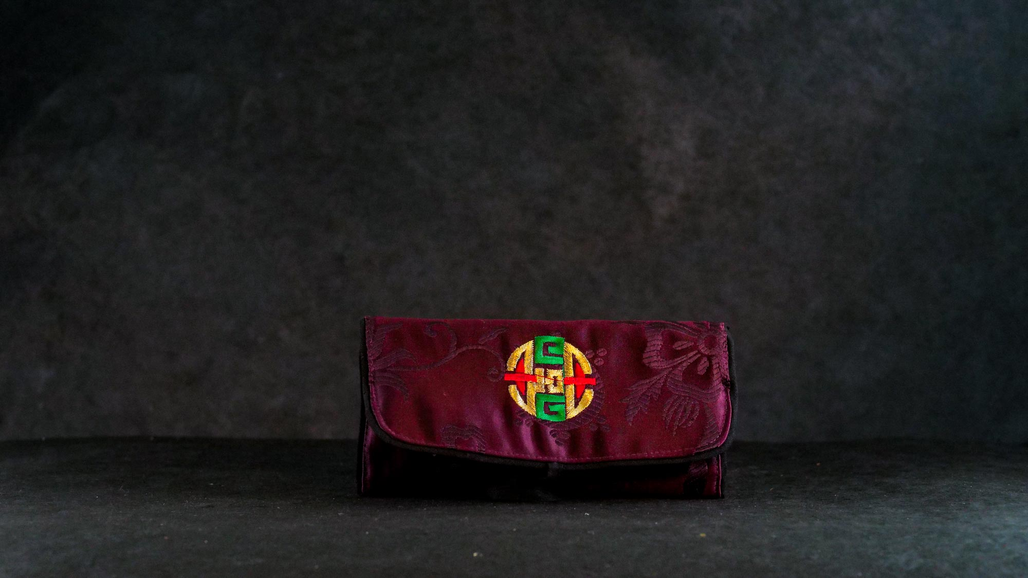 Schmucktasche Bordeaux