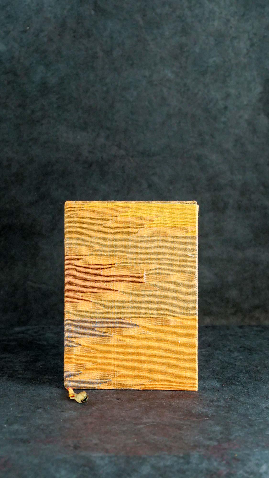 Notizbuch M Wüsten Gelb