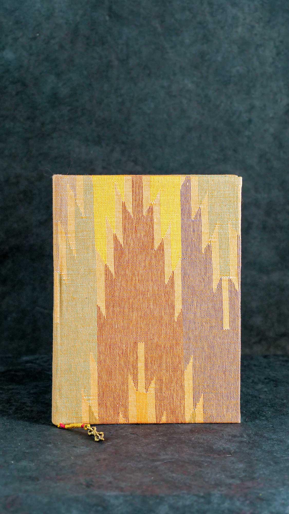 Notizbuch L Wüsten Gelb