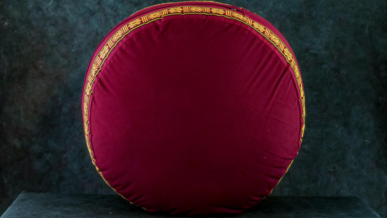 Meditationskissen 'Bordeaux'