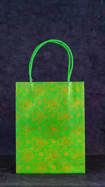 Geschenktüte L Grün