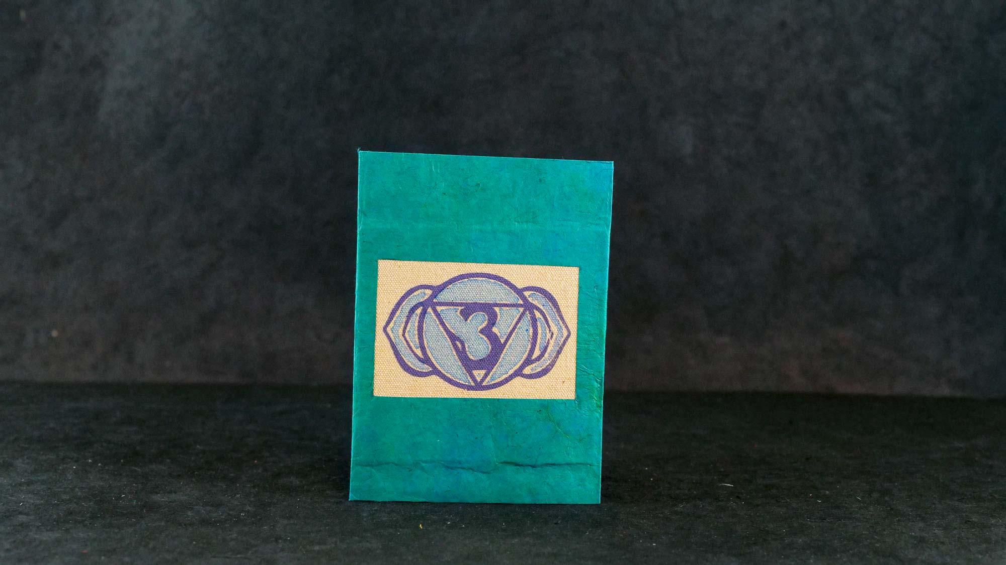 Briefkarte, Chakra Ajna (Stirnchakra)