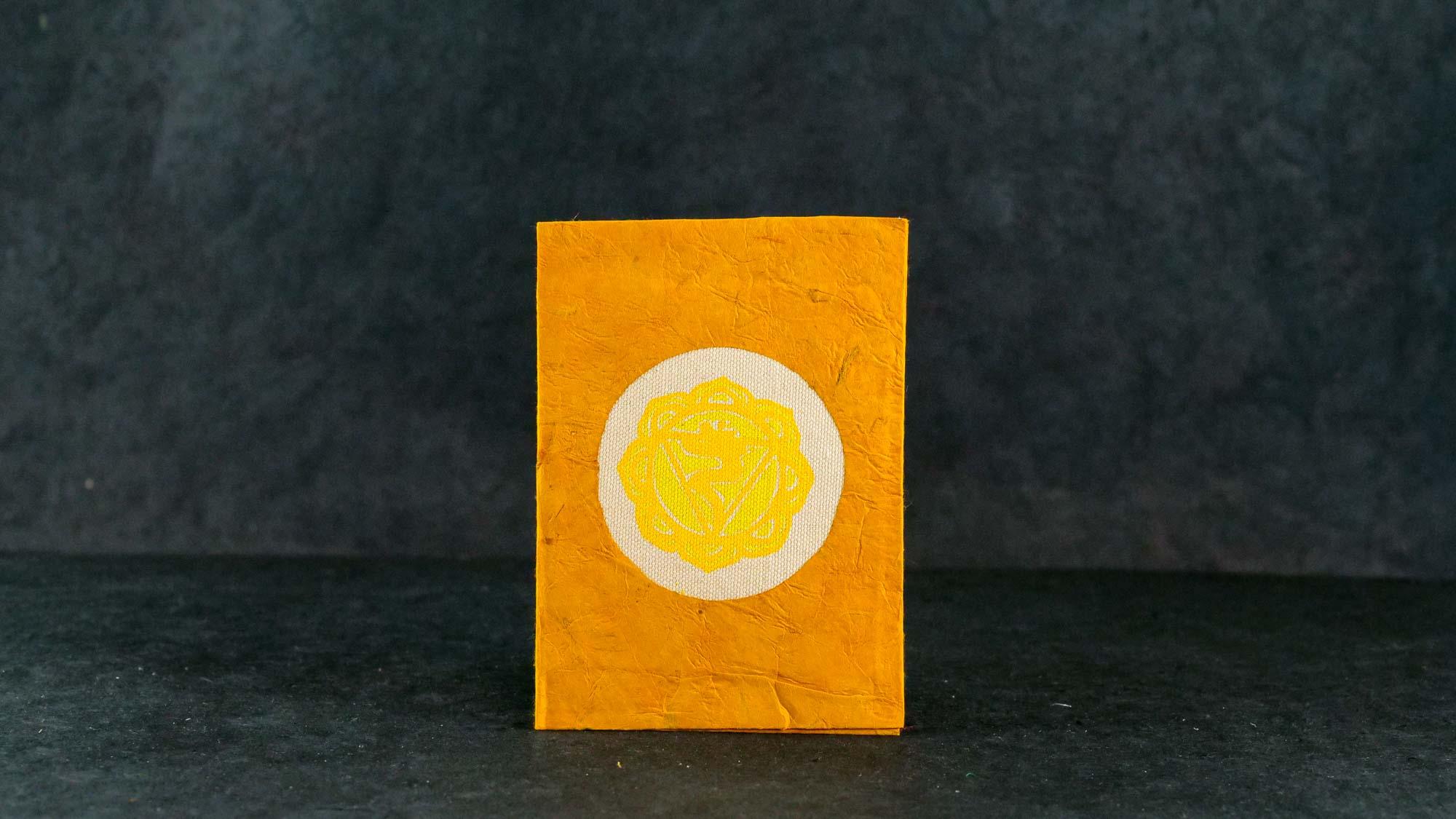 Briefkarte Chakra Manipura (Solarplexus Chakra)
