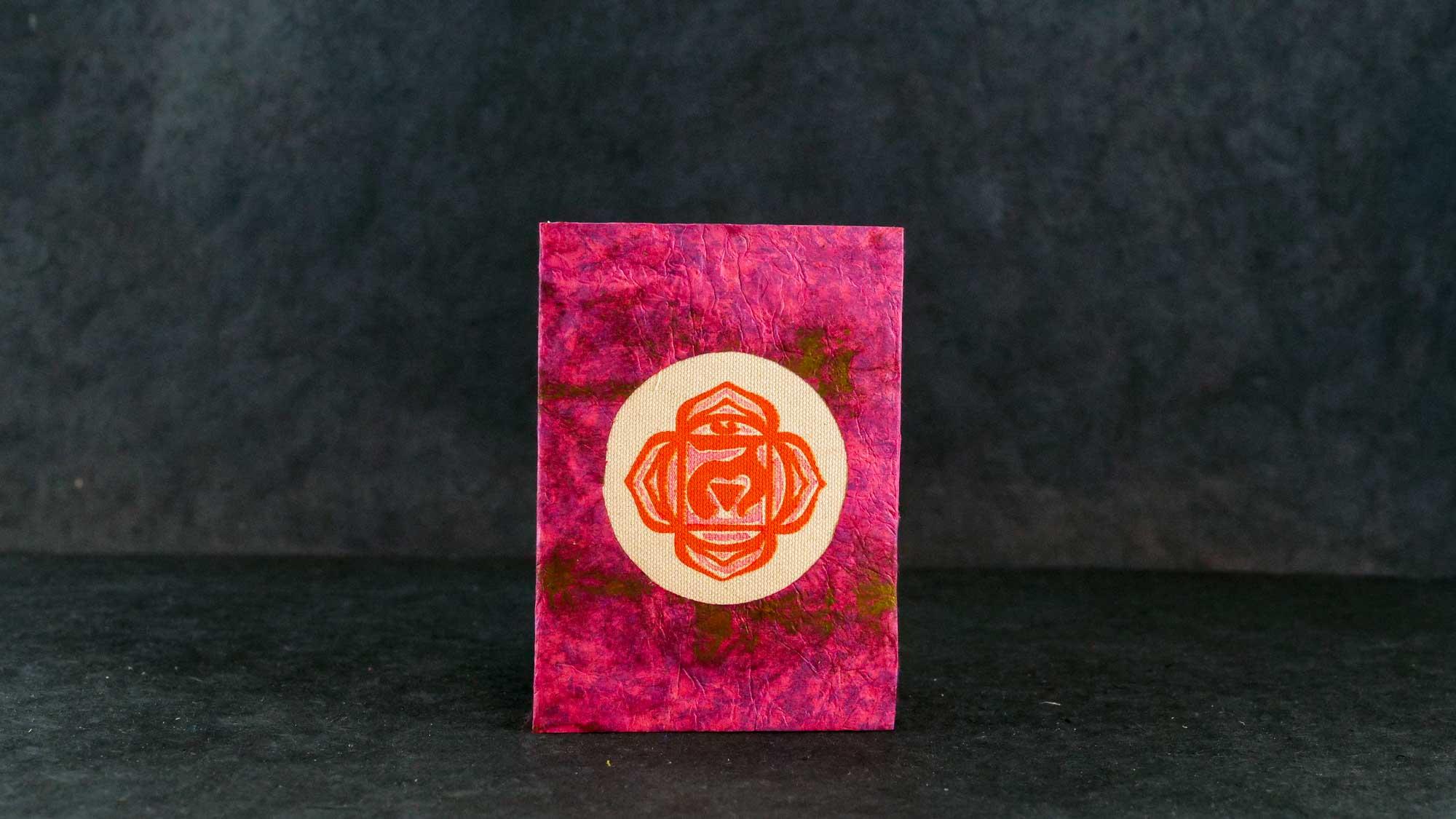 Briefkarte, Chakra Muladhara (Wurzelchakra)