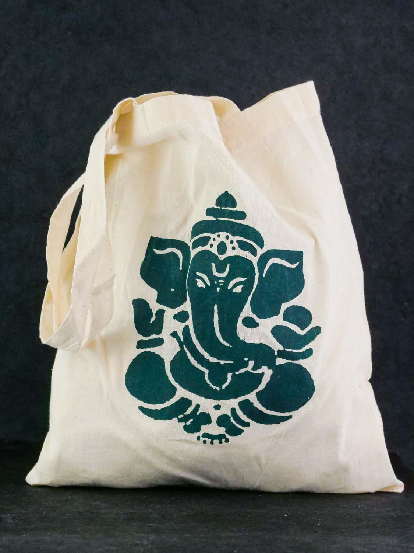 Tragebeutel 'Ganesh' Grün
