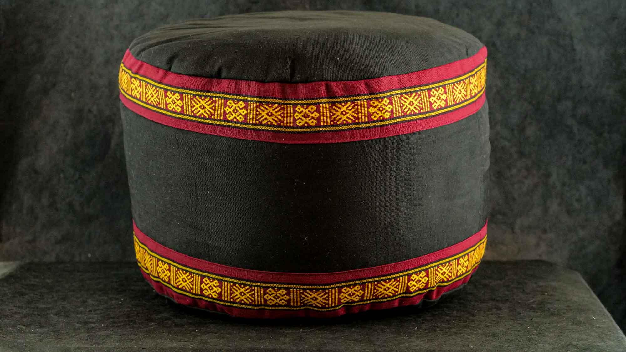 Meditationskissen 'Bhutan' Schwarz
