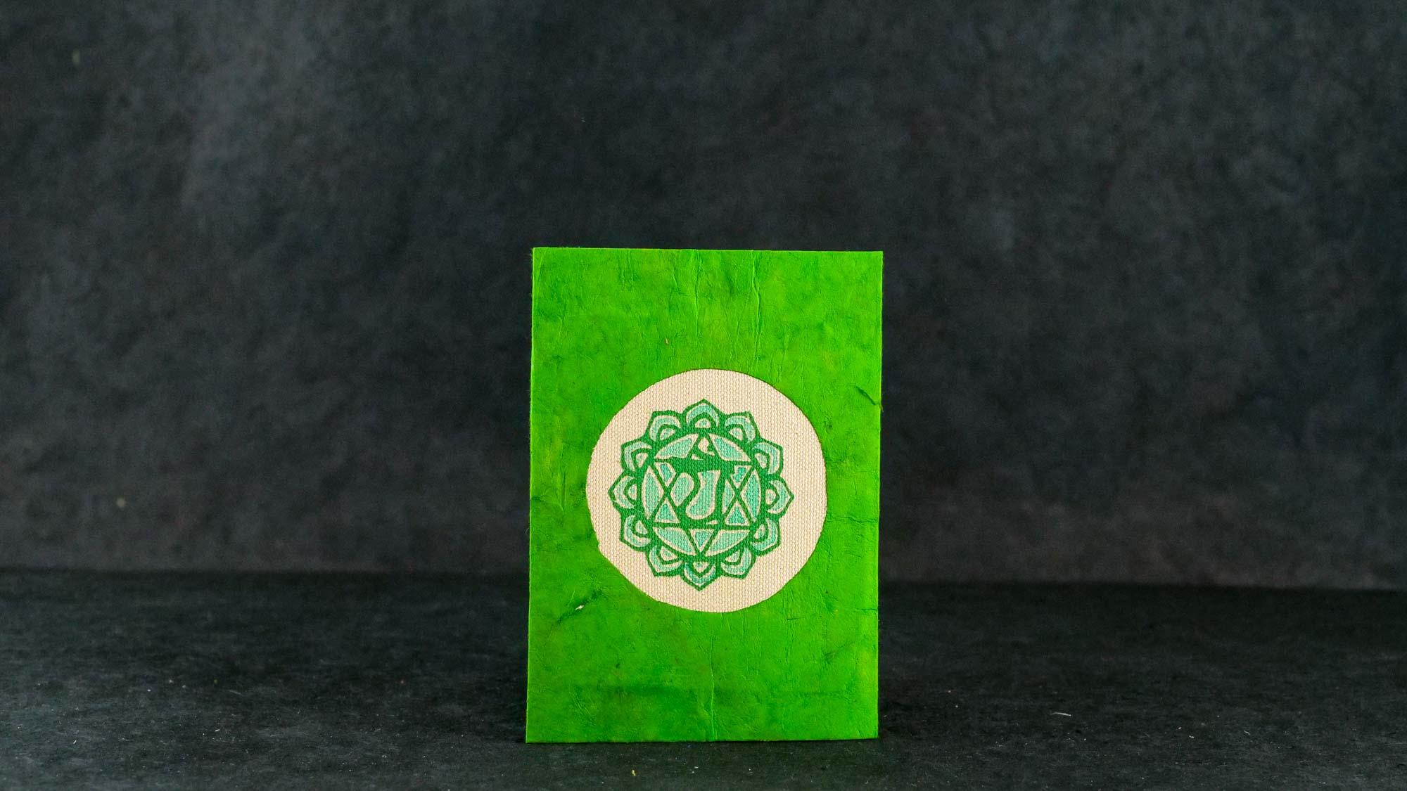 Briefkarte, Chakra Anahata (Herzchakra)
