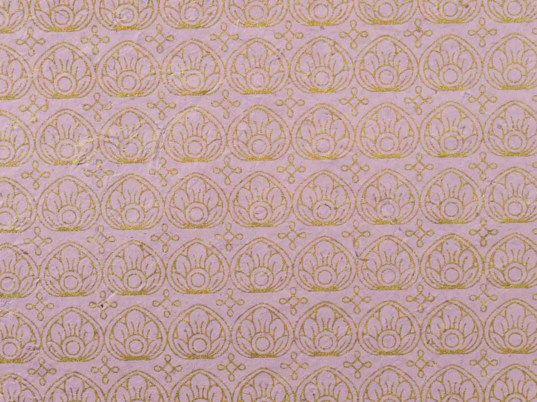 Geschenkpapier Pastell 'Gita' Flieder