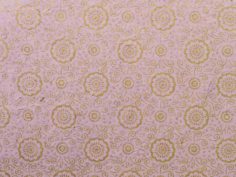 Geschenkpapier Pastell 'Ramaya' Flieder
