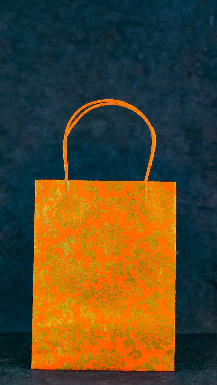 Geschenktüte L Orange
