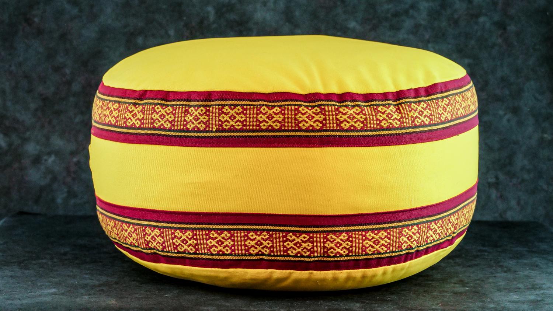 Meditationskissen 'Gelb'