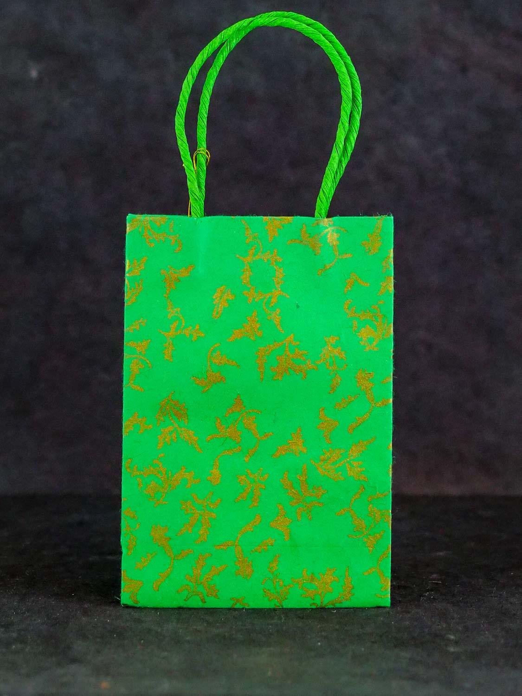 Geschenktüte Hoch Grün