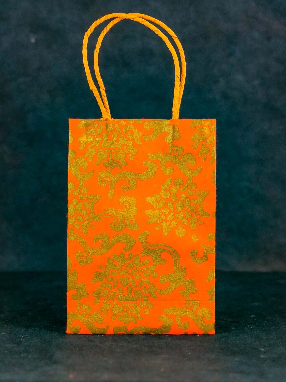 Geschenktüte Hoch Orange