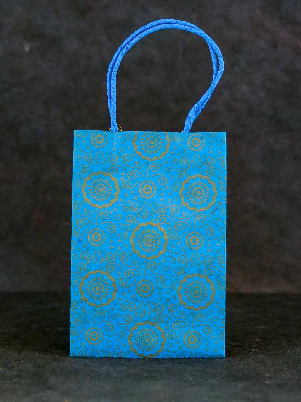 Geschenktüte Hoch Hellblau
