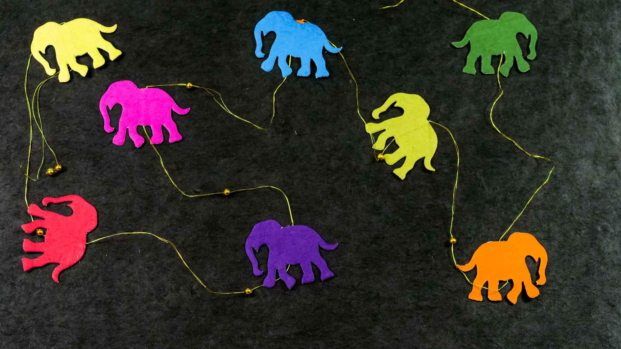 Girlande 'Elefant'