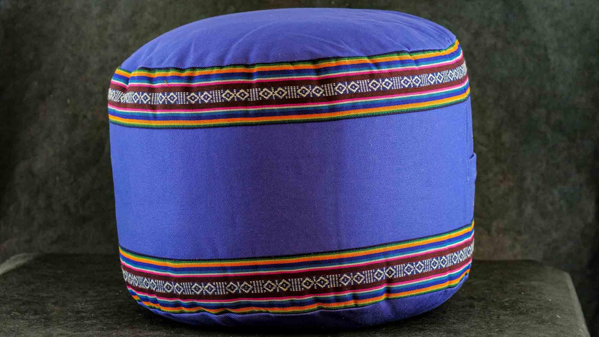 Meditationskissen 'Bhutan' Blau