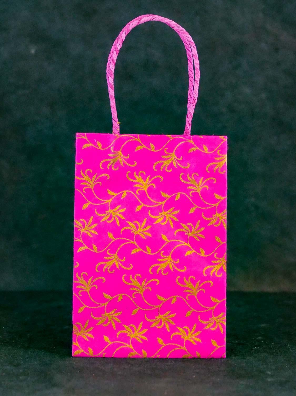 Geschenktüte Hoch Pink