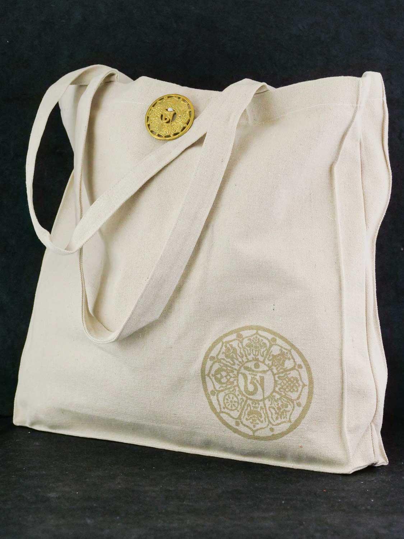 Tasche 'Mandala' Natur