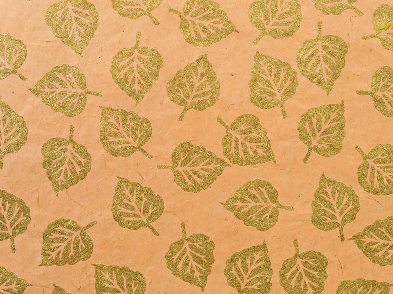 Geschenkpapier Pastell 'Anita' Apricot