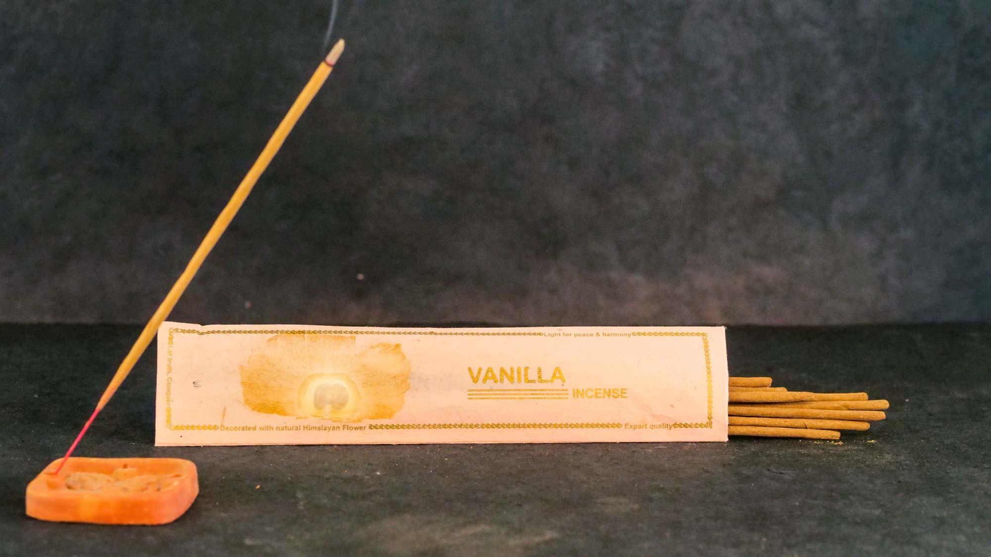 Räucherstäbchen 'Vanilla'