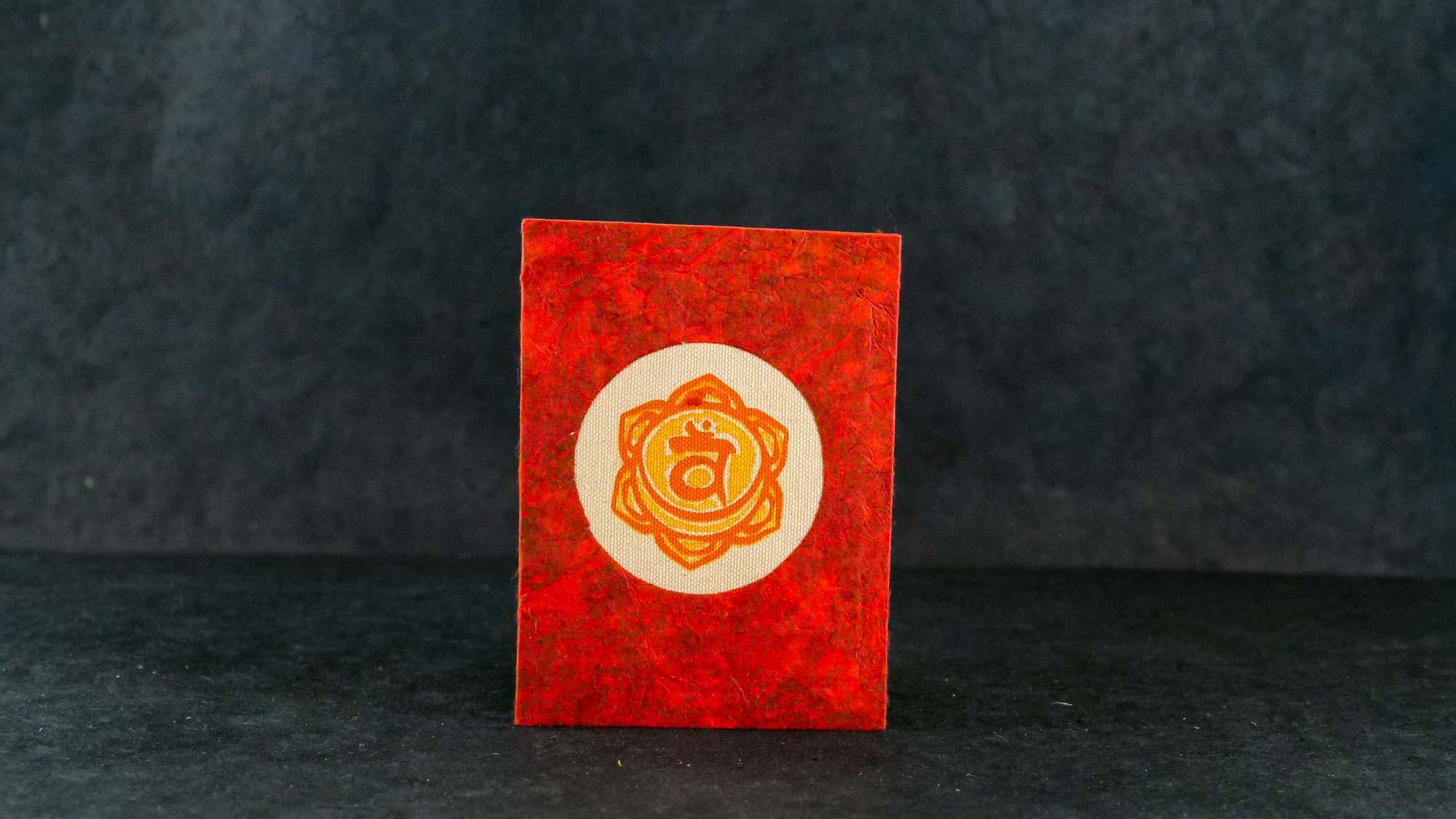 Briefkarte, Chakra Svadisthana (Sakralchakra)