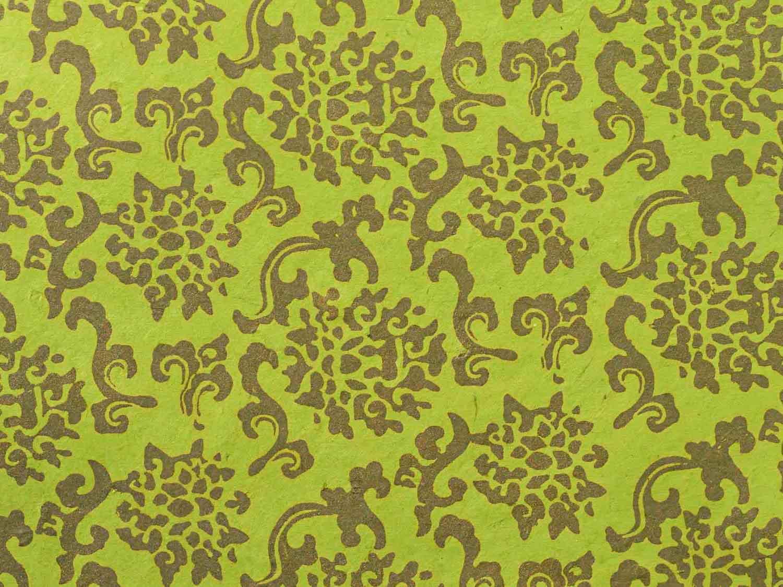 Geschenkpapier 'Sunita' Hellgrün