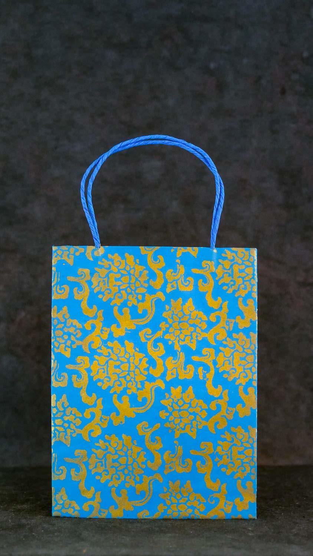 Geschenktüte L Hellblau